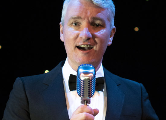 Peter Stanford Swing & Rat Pack Singer In Formal Black Tie