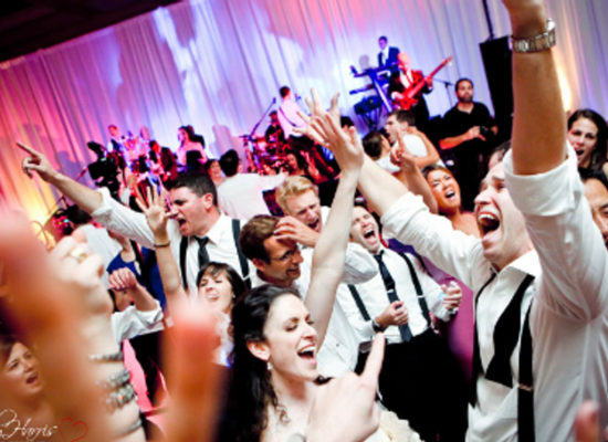 The Dukes Party Band Corporate Crowd Dancing First & Foremost Entertainment Ltd