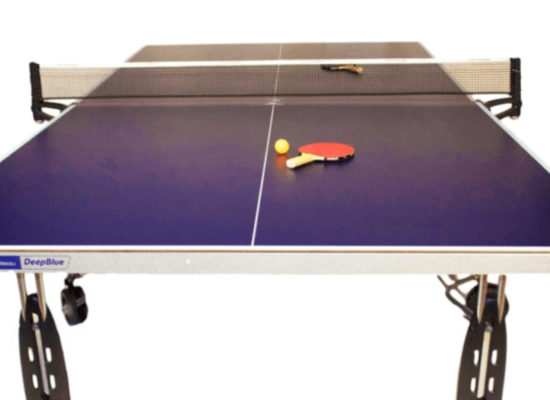 Table Tennis Table With Bat & Ball