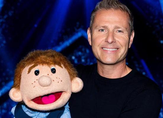 Ventriloquist Paul Zerdin With His Friend Sam