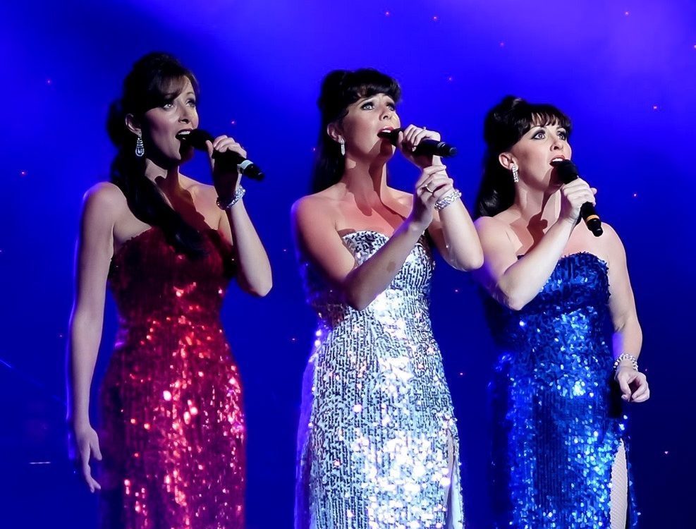 The Patriot Girls Close Harmony Vintage Trio