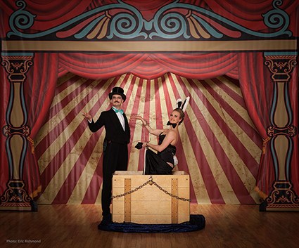 Norvil And Josephine Vintage Themed Comedy Stage Magicians