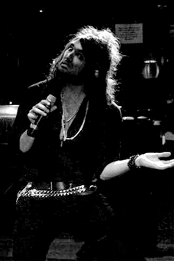 Russell Brand Lookalike Black & White Publicity Photo