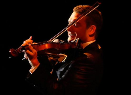 Andy Multi Instrumentalist Playing Live On The Violin