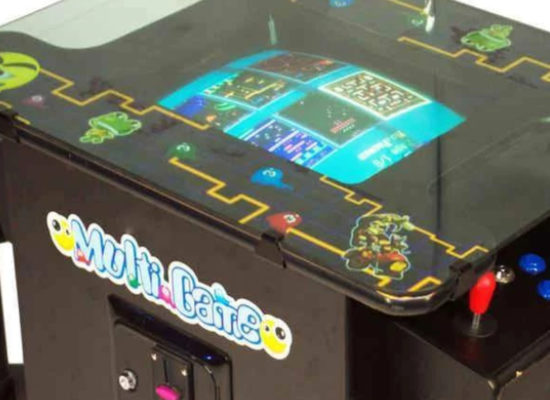 Classic Arcade Game Machine For Hire Side View