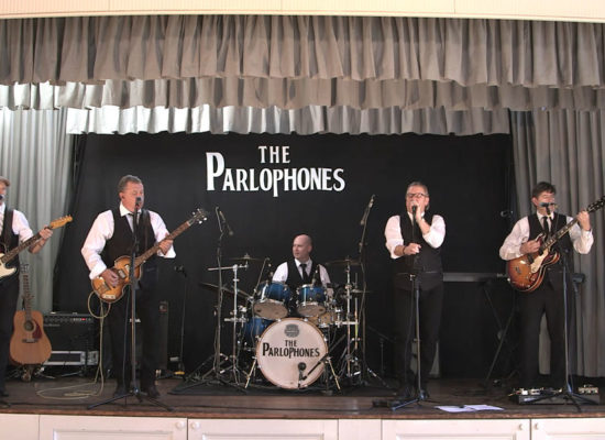 The Parlophones 60s Band On Stage