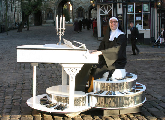 Musical Ruth The Nutty Nun Out And About On The Streets