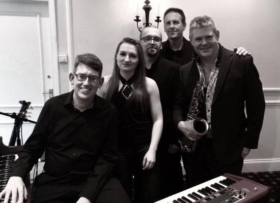 Hammond Jazz Groovers Black & White Image First & Foremost Entertainment Ltd