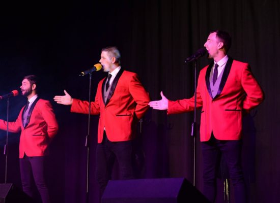 Story Of The Man Band Performing Jersey Boys Routine